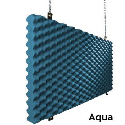 Baffle Acoustic Foam Aqua