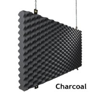 Baffle Acoustic Foam Charcoal