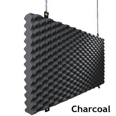 Baffle Acoustic Foam Charcoal