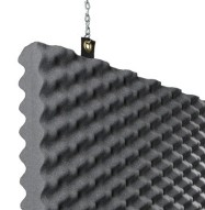 Baffle Acoustic Foam Detail