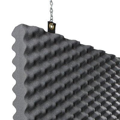 Baffle Acoustic Foam Detail