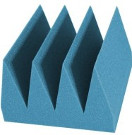 Bass Wedge Studio Foam 8 inch Aqua