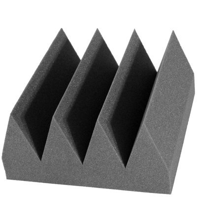 Bass Wedge Acoustic Foam 6 inch Charcoal