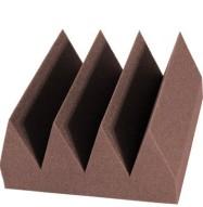 Bass Wedge Studio Foam 6 inch Chocolate