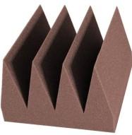 Bass Wedge Studio Foam 8 inch Chocolate