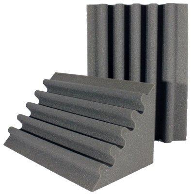 Acoustic Foam Corner Trap Charcoal 24 inch
