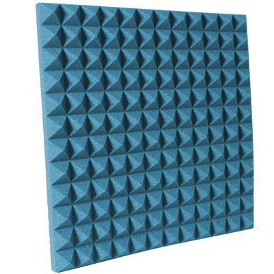 2 inch Aqua Pyramid Acoustic Foam