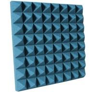 3 inch Aqua Pyramid Studio Foam
