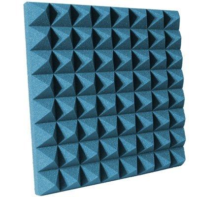 3 inch Aqua Pyramid Acoustic Foam