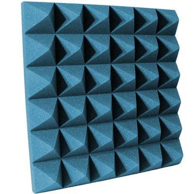 4 inch Aqua Pyramid Acoustic Foam