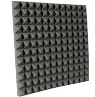 2 inch Charcoal Pyramid Studio Foam