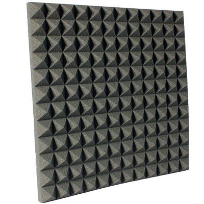 2 inch Charcoal Pyramid Acoustic Foam