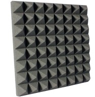 3 inch Charcoal Pyramid Studio Foam