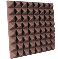 3 inch Chocolate Pyramid Studio Foam