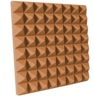 3 inch Pumpkin Pyramid Acoustic Foam