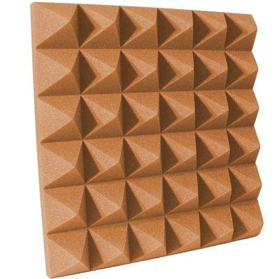 4 inch Pumpkin Pyramid Acoustic Foam
