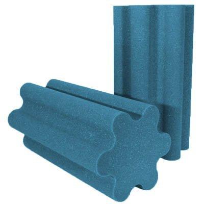 Spiral Trap Acoustic Foam Aqua 24 inch