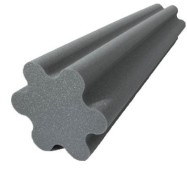 Spiral Trap Acoustic Foam Charcoal 48 inch