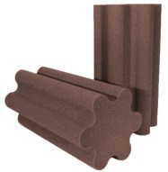 Spiral Trap Studio Foam Chocolate 24 inch