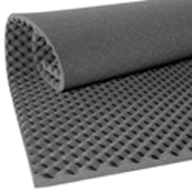 acoustic foam panel convoluted