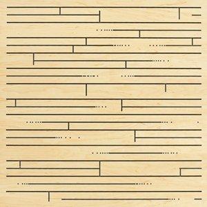 perforated panel hardwood 300