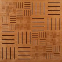 perforated panel parquet 300