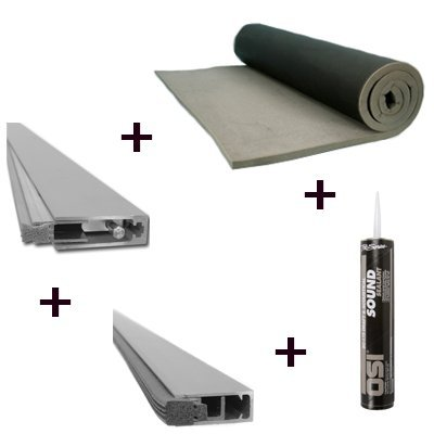 door soundproofing industrial kit