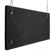 Sound absorption echo absorber charcoal 2